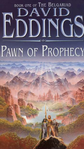 a review of the book pawn of prophecy by david eddings Queen of sorcery by david eddings, book two of the belgariad this book begins  with garion in the land of arendia by amos811.
