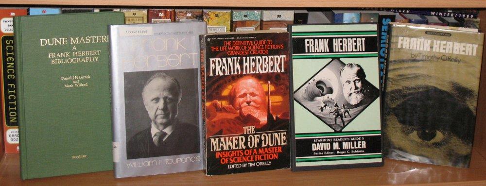 Franck Herbert - 17 romans (inclus cycle de Dune)