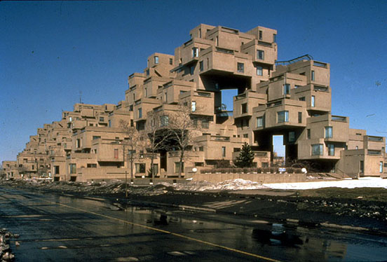 Habitat 67 it doesn 39 t have to be right for Habitat 67 architecture