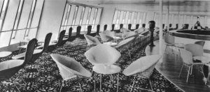 Crows Nest bar aboard SS Canberra