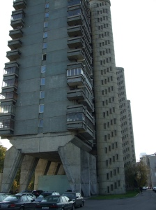 """Centipede"" apartment building, Moscow, Russia"