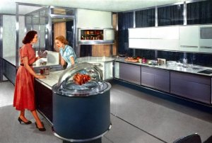 Frigidaire Kitchen of the future, 1956 Motorama
