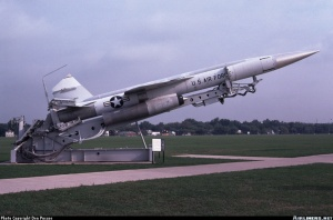 Boeing CIM-10 Bomarc: US supersonic interceptor anti-aircraft missile (1959 - 1972)