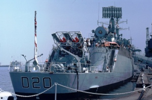 Sea Slug missile: UK surface to air missile carried aboard County class destroyers (1961 - 1991)
