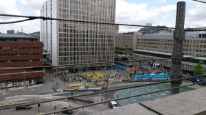 Sergels torg, from the top of the Kulturhuset