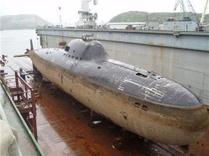 An Alfa Class submarine